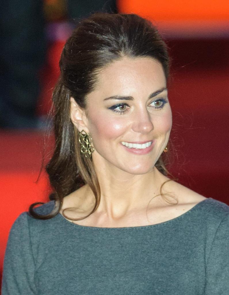 Coiffure élégante Kate Middleton