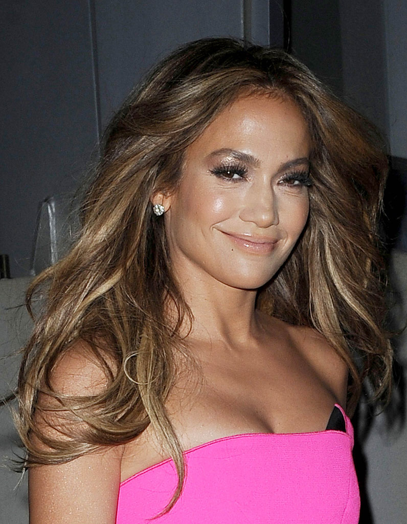 la coloration bronde de jennifer lopez - Coloration Bronde