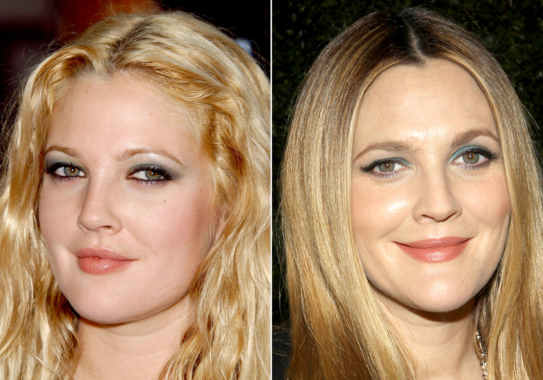 les sourcils de drew barrymore avant apr s sourcils de stars les avant apr s les plus. Black Bedroom Furniture Sets. Home Design Ideas