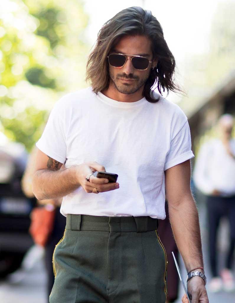 coiffure pour homme avec m che automne hiver 2018 ces coupes de cheveux pour hommes qui nous. Black Bedroom Furniture Sets. Home Design Ideas