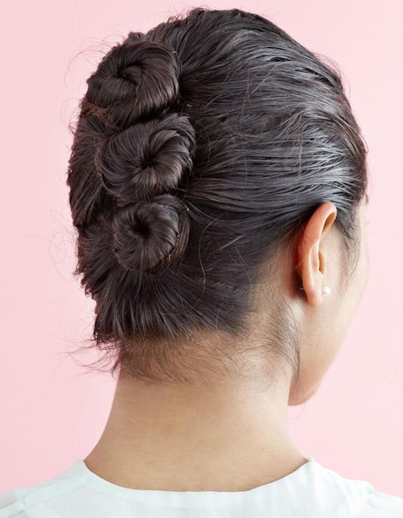 Coiffure Cheveux Mouillu00e9s Chignons - 15 Idu00e9es De Coiffures Sur Cheveux Mouillu00e9s - Elle