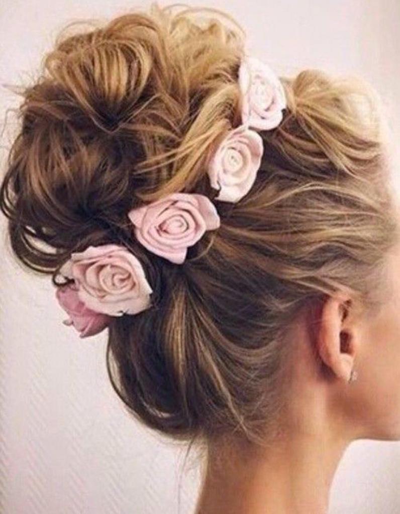 coiffure demoiselle d 39 honneur fleur 15 coiffures de. Black Bedroom Furniture Sets. Home Design Ideas