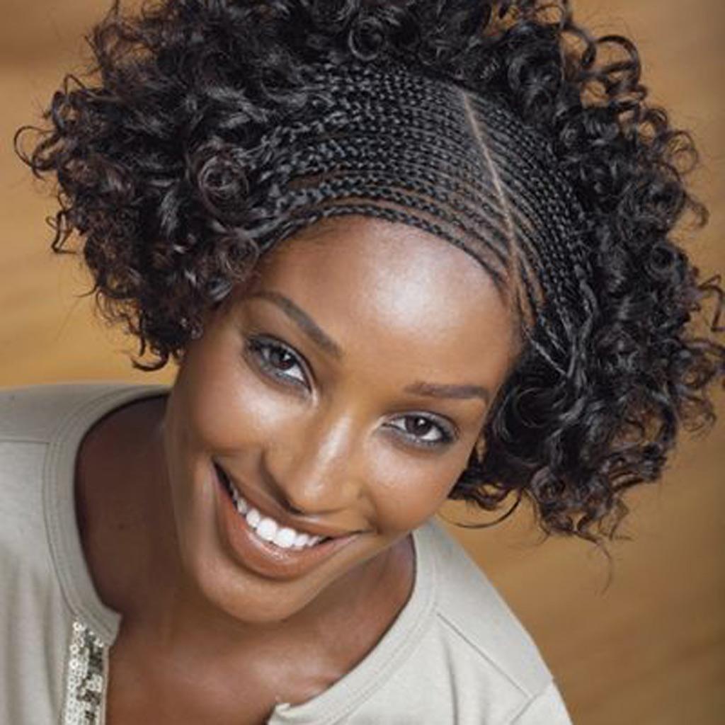 Coiffure afro antillaise hiver 2015 - Coiffures afro  les filles stylu00e9es donnent le ton - Elle