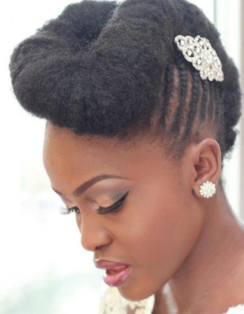 Coiffure Afro Pour Mariage