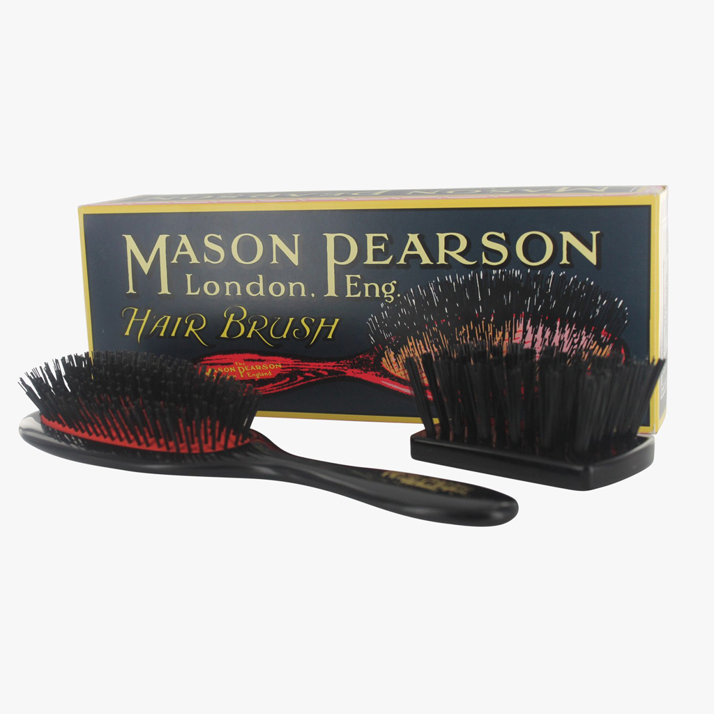 brosse handy bristle noire mason pearson les 10 meilleures brosses pour des cheveux brillants. Black Bedroom Furniture Sets. Home Design Ideas