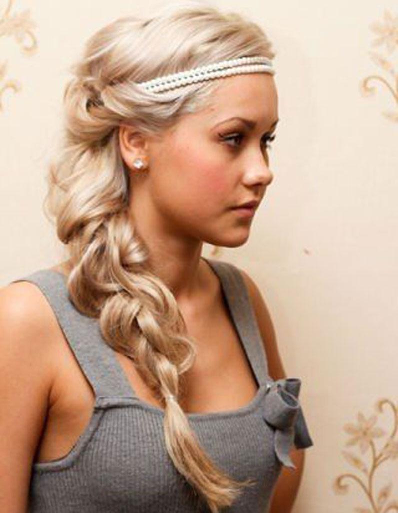 Extrêmement Coiffure visage rond blond - 40 coiffures canon pour les visages  DV69