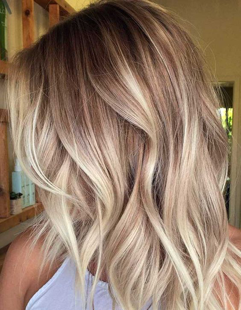 ombr hair beige ombr hair les plus beaux d grad s de couleur elle. Black Bedroom Furniture Sets. Home Design Ideas