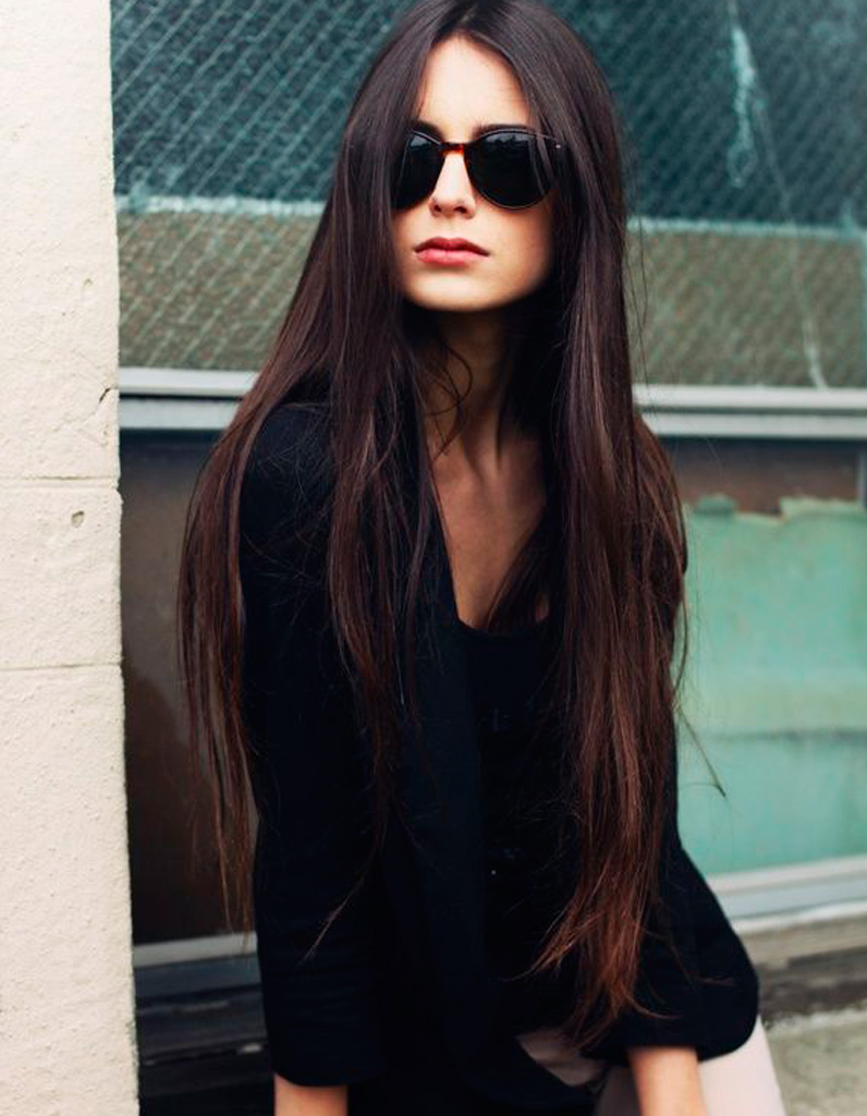 coupe cheveux long brune