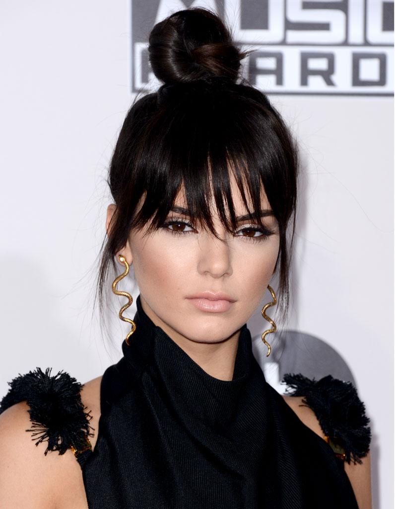 Selena gomez haircut with bangs