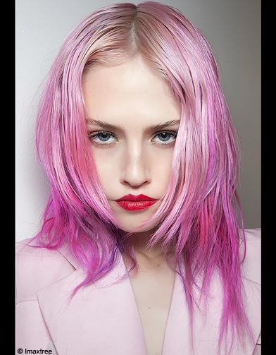 Color block cheveux
