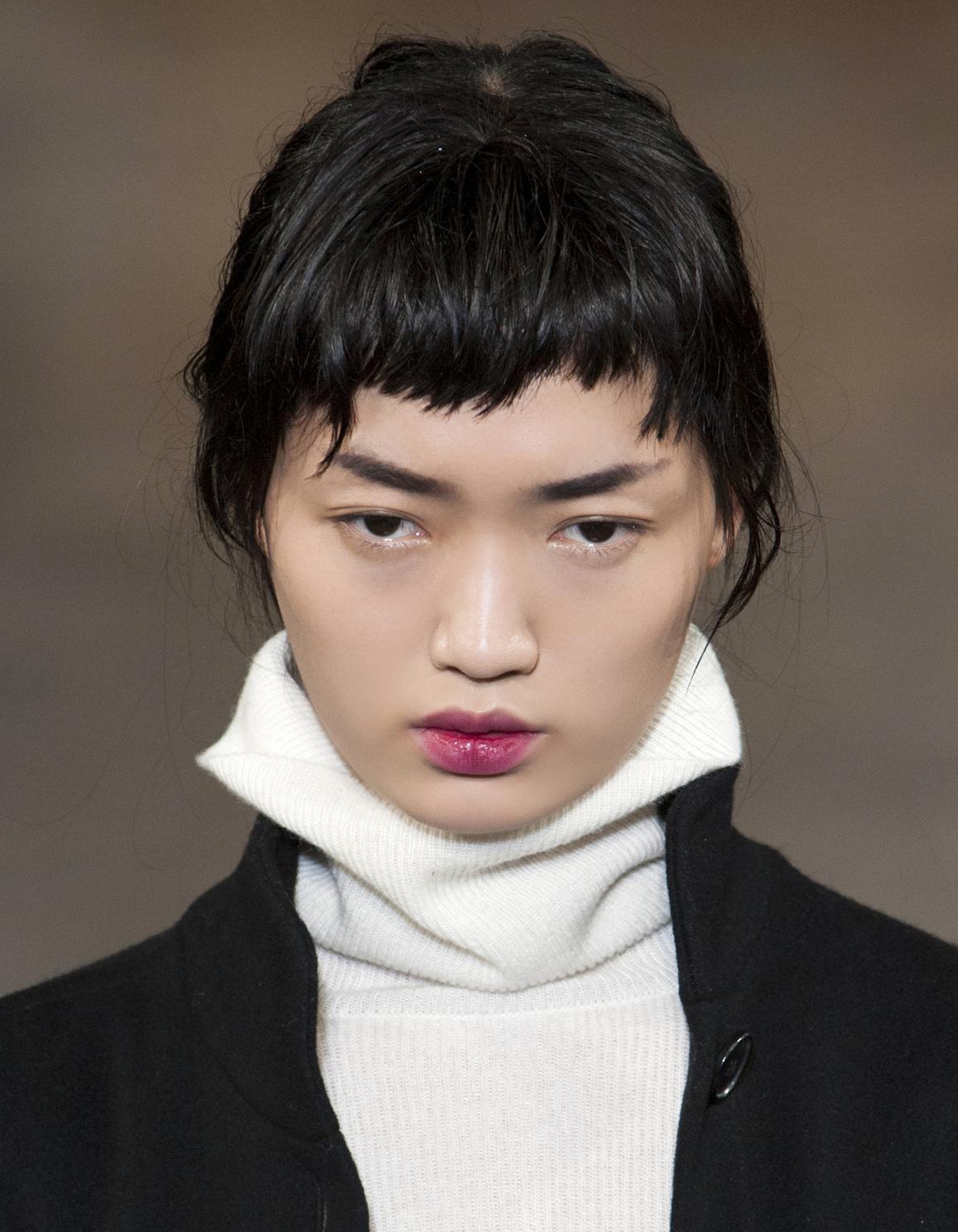 Frange courte asymétrique - 20 façons de porter la frange courte - Elle