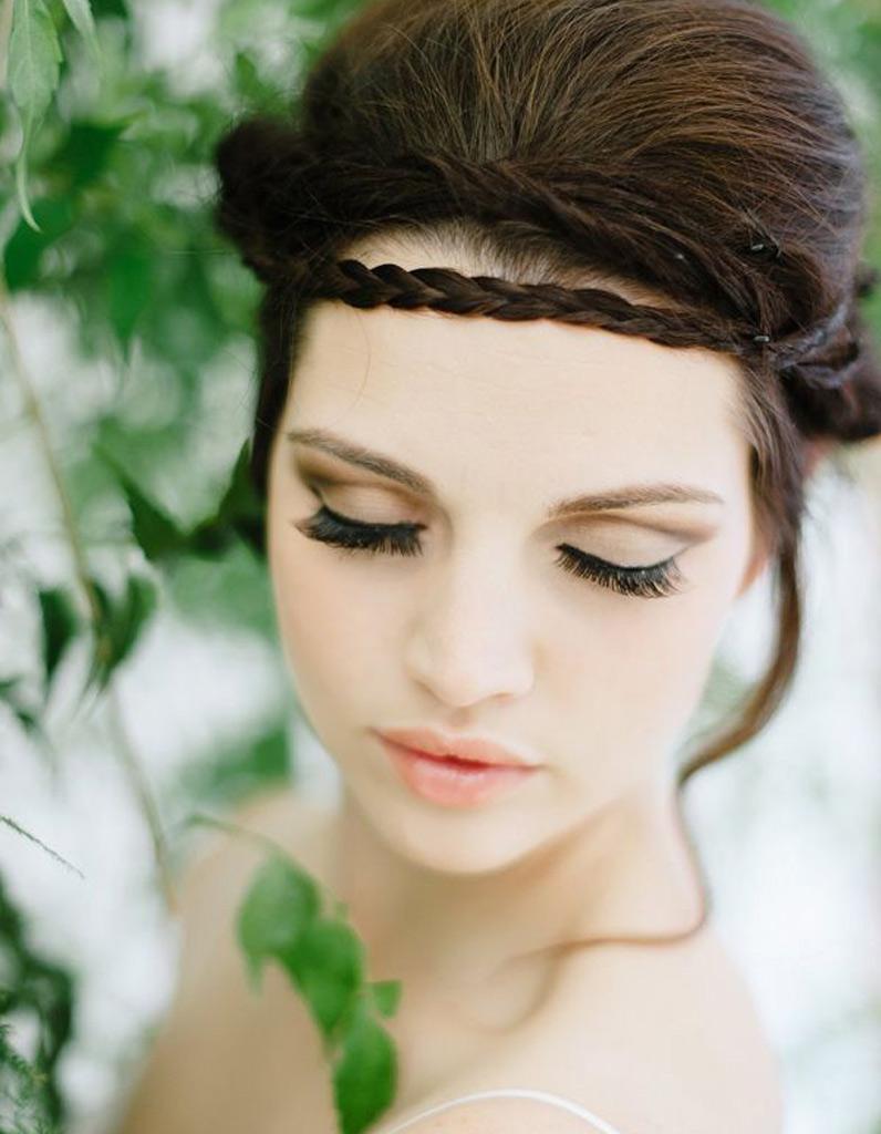 Coiffure mari e tresse romantique les plus jolies coiffures de mari e pour s inspirer elle - Les plus belle coiffure de mariage ...