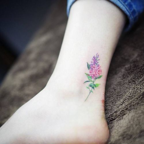 tatouage aquarelle petite fleur les plus jolis tatouages aquarelle pour voir la vie en. Black Bedroom Furniture Sets. Home Design Ideas