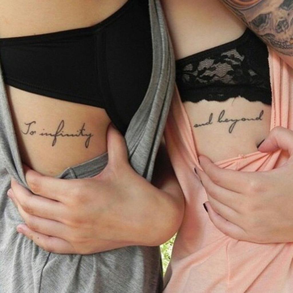 Tatouage phrases soeurs