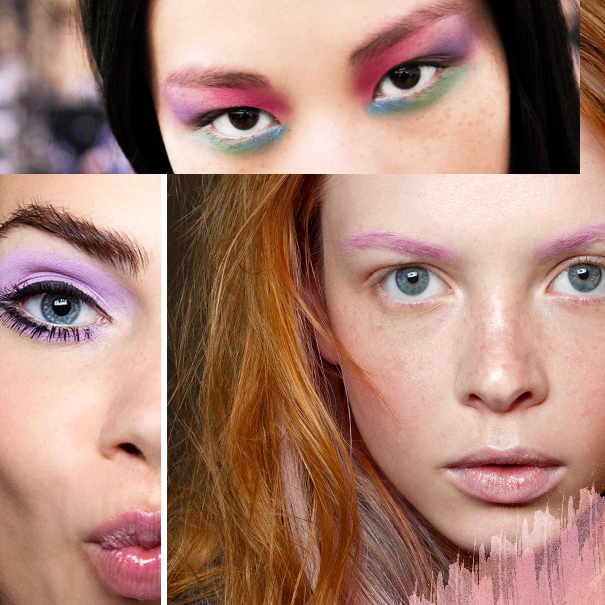les couleurs pastel maquillage printemps t les tendances rep r es pendant les fashion. Black Bedroom Furniture Sets. Home Design Ideas