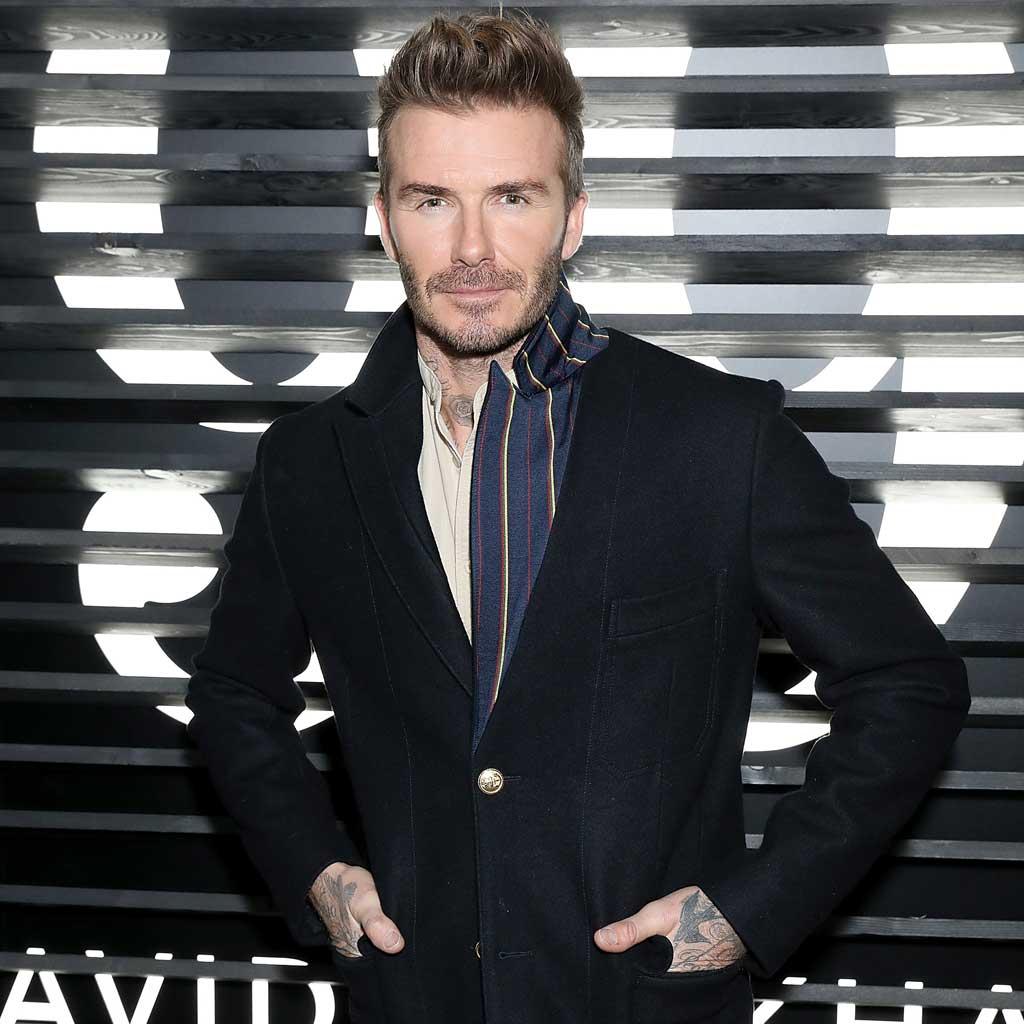 Exclusive Interviews Pictures More: Interview Exclusive : David Beckham Doit Son Meilleur