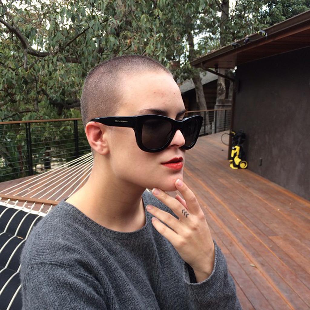 Tallulah Belle Willis se rase la tête comme sa mère - Elle