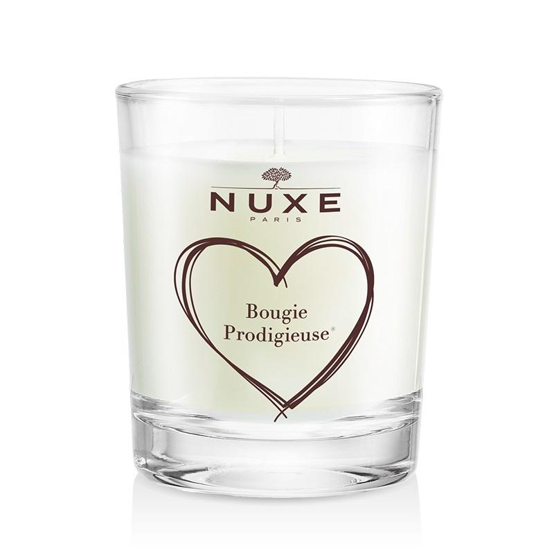bougie parfum e de nuxe envie de douceur nos bougies parfum es pr f r es elle. Black Bedroom Furniture Sets. Home Design Ideas