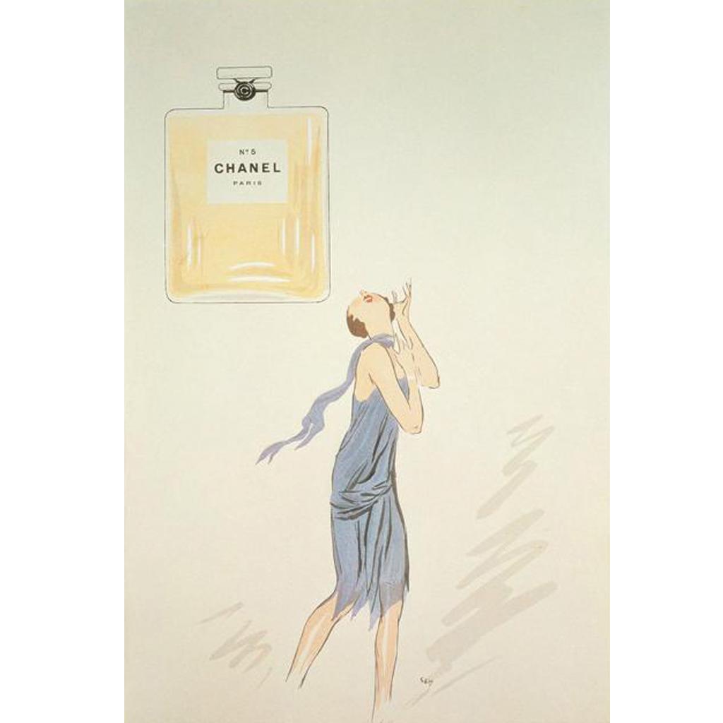 chanel n 5 par le dessinateur sem en 1921 chanel n 5 les campagnes pub d un parfum de. Black Bedroom Furniture Sets. Home Design Ideas