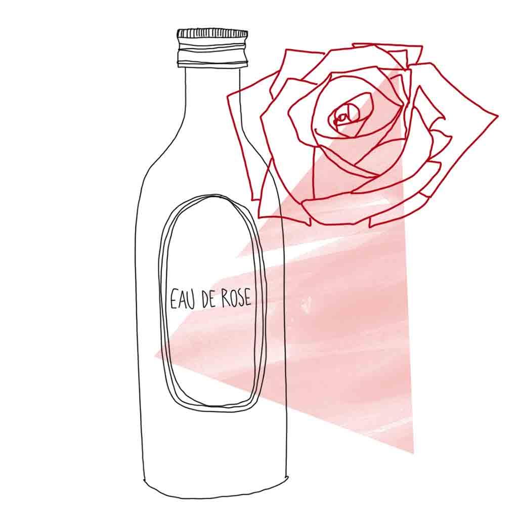 eau de rose tout savoir sur l eau de rose le secret beaut d une jolie peau elle. Black Bedroom Furniture Sets. Home Design Ideas