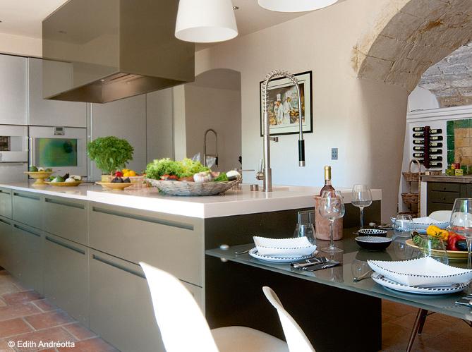 10 cuisines pour recevoir elle d coration - Art et decoration cuisine ...