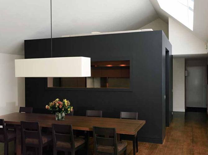 7 cuisines ouvertes bien int gr es elle d coration - Hauteur d une hotte par rapport au plan de travail ...