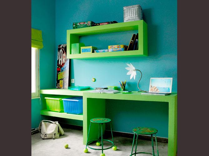 Chambre d 39 enfants un espace qui leur ressemble elle d coration - Bureau enfant garcon ...