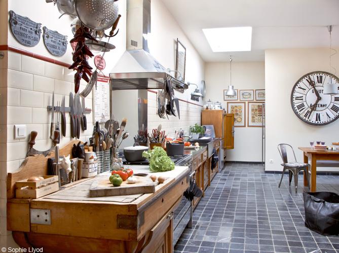 D co maison dans le nord ils ont de l 39 imagination - Maison deco cuisine ...