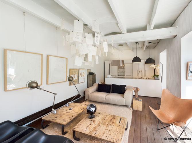 D coration scandinave dans une maison de marseille elle d coration - Deco maison scandinave ...