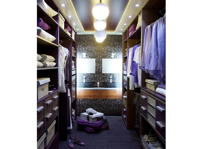 Des dressings tr s pratiques elle d coration - Chambre avec dressing et salle de bain ...