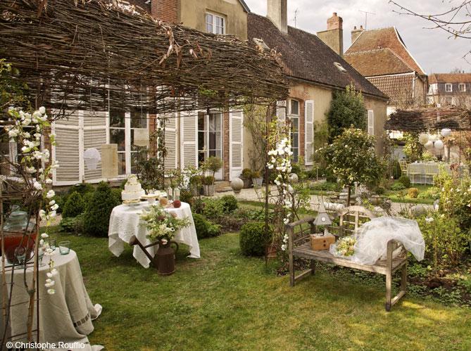 Jolies id es d co pour un mariage la campagne elle for Decoration maison a l anglaise