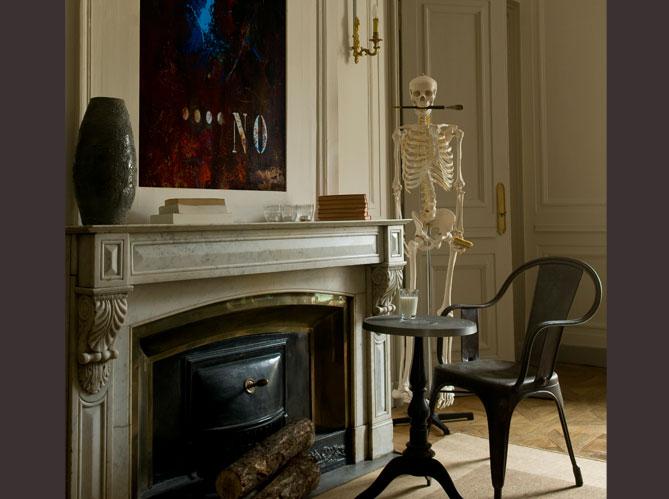 l 39 esprit industriel d 39 un appartement lyonnais elle d coration. Black Bedroom Furniture Sets. Home Design Ideas