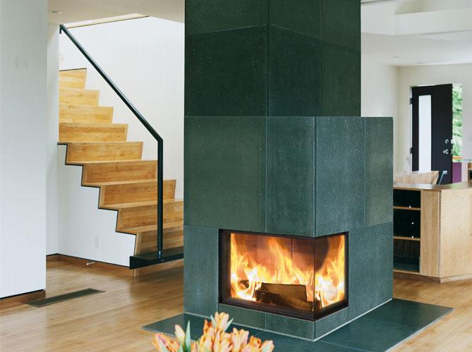 les chemin es structurent l 39 espace elle d coration. Black Bedroom Furniture Sets. Home Design Ideas