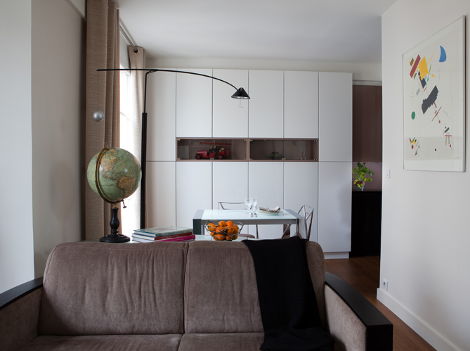 les cuisines se cachent pour mieux recevoir elle d coration. Black Bedroom Furniture Sets. Home Design Ideas