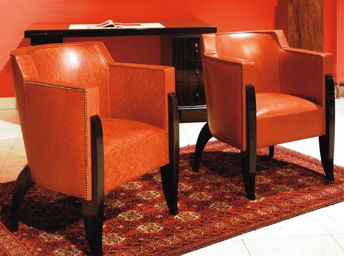 les fauteuils art d co elle d coration. Black Bedroom Furniture Sets. Home Design Ideas
