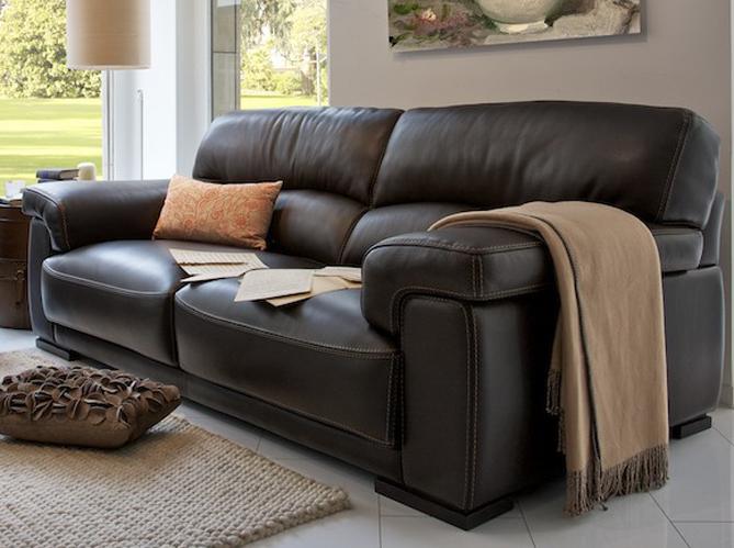 les nouveaux canap s en cuir elle d coration. Black Bedroom Furniture Sets. Home Design Ideas