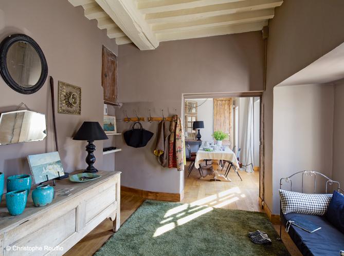 Maison en normandie une d co chic et classique elle for Elle decoration maison