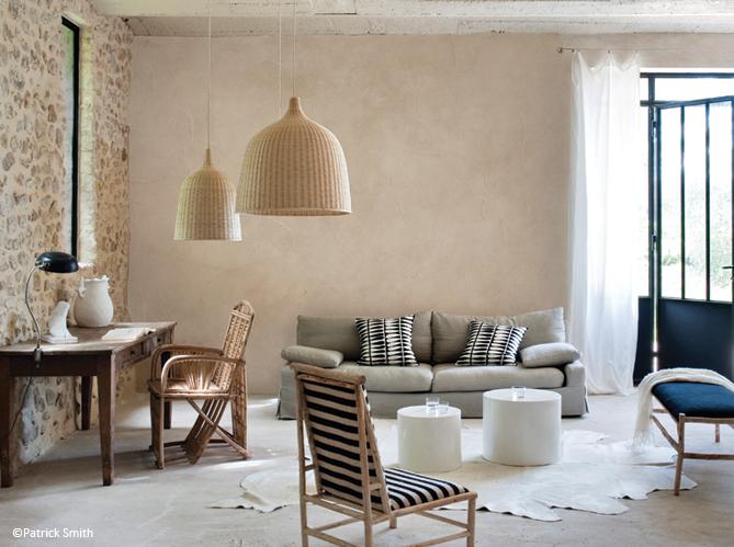 peinture colo misez sur les enduits naturels elle. Black Bedroom Furniture Sets. Home Design Ideas