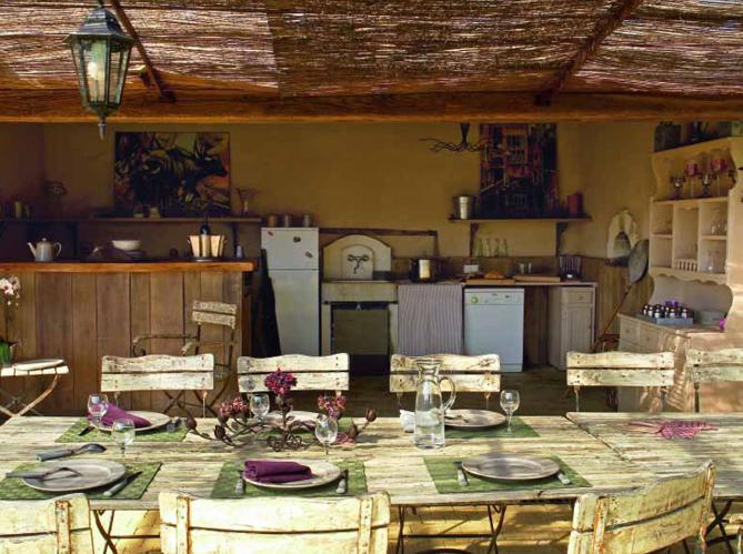 Pratiques les cuisines d ext rieur elle d coration for Gaziniere exterieur