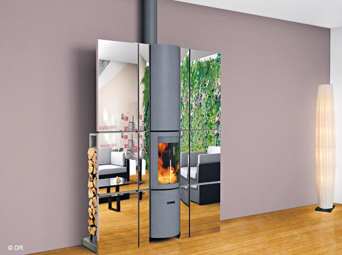 Un po le design dans le salon elle d coration for Laque effet miroir