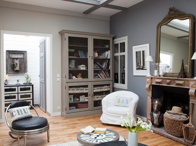 une maison d 39 poque l 39 esprit r cup 39 elle d coration. Black Bedroom Furniture Sets. Home Design Ideas