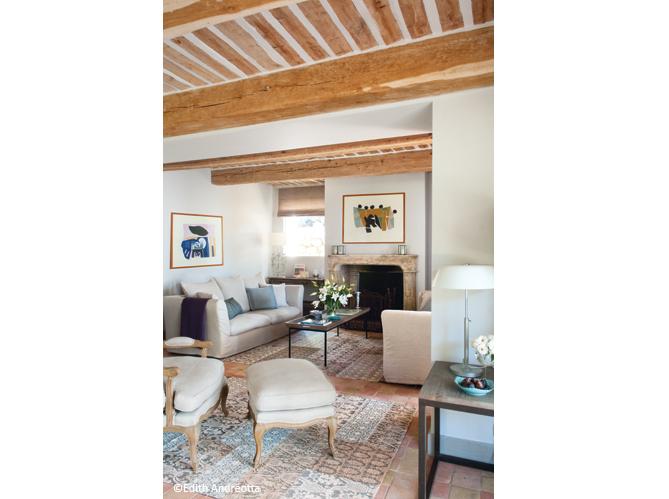 cannes une maison de vacances pas du tout bling bling elle d coration. Black Bedroom Furniture Sets. Home Design Ideas