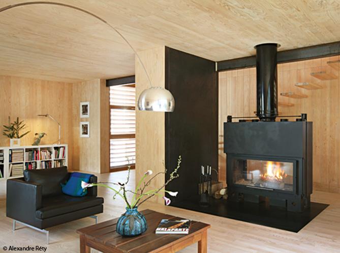 Visitez cette maison 100 en bois elle d coration - Decoration maison en bois ...
