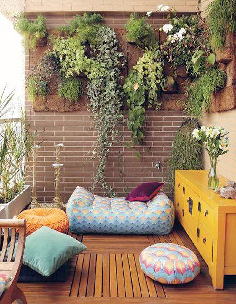 15 idées pour mettre son balcon au vert - Elle Décoration