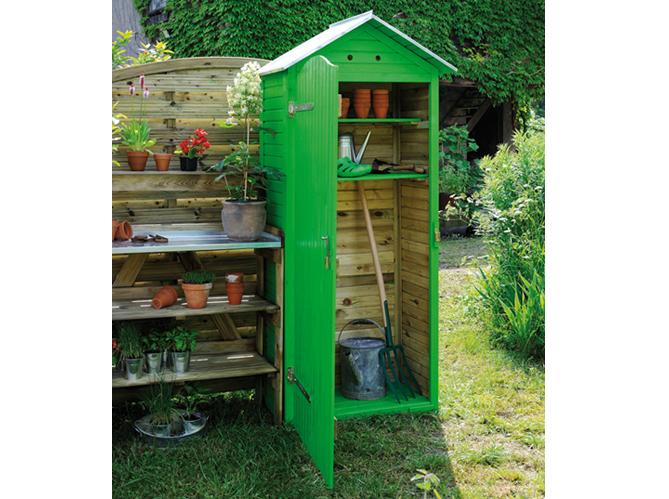 24 abris pour votre jardin abris de jardin elle d coration for Cendre de bois pour le jardin