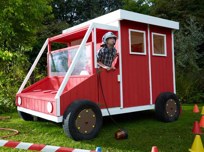 Enfants jeux de jardin pour s 39 amuser elle d coration - Castorama cabane enfant ...
