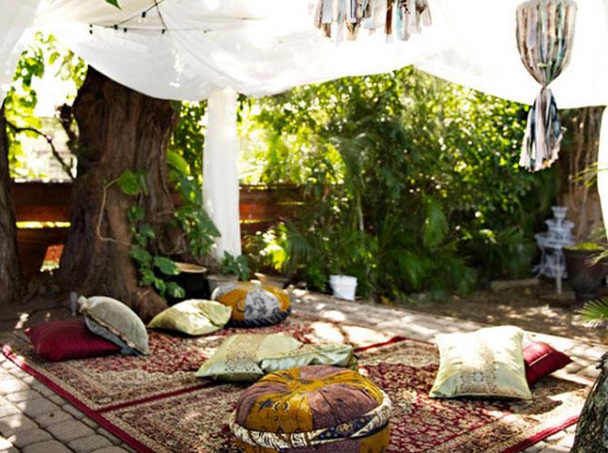 d co estivale 21 jardins pour vous inspirer elle d coration. Black Bedroom Furniture Sets. Home Design Ideas