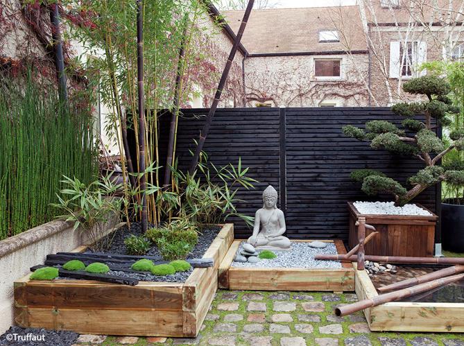 Jardin zen visez la pl nitude elle d coration for Arbuste pour jardin zen