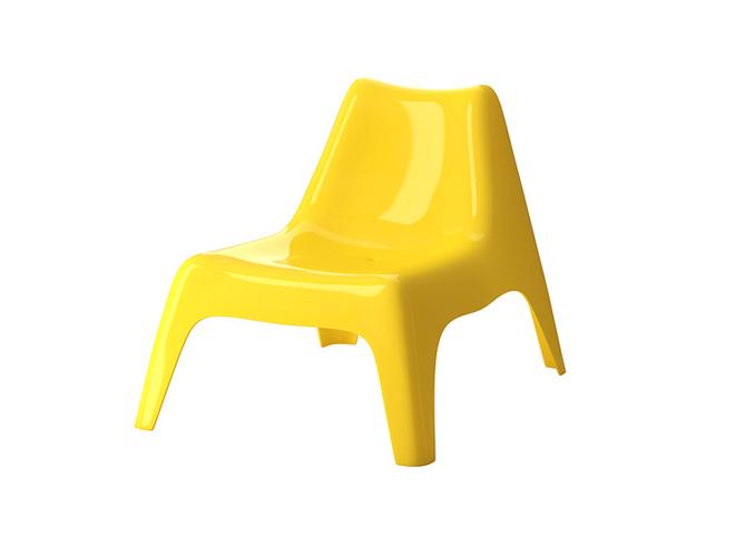 Les meubles de jardin prennent de la couleur elle - Chaise enfant accoudoir ...