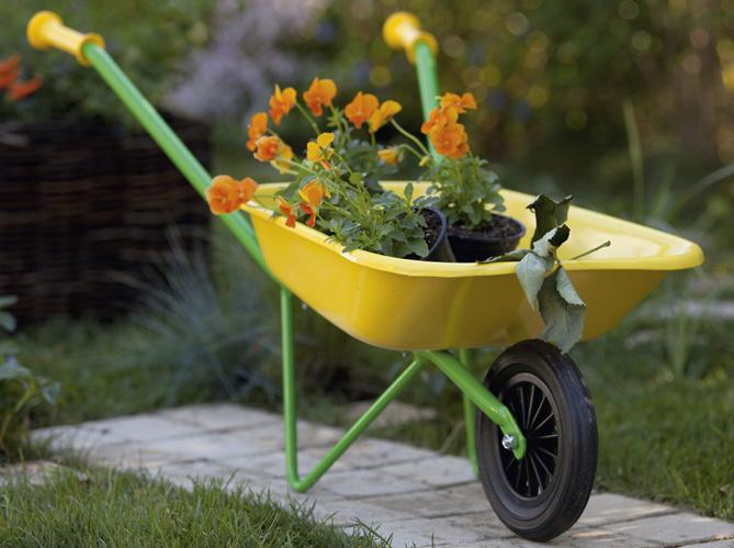 Youhou un coin jardin r serv aux enfants elle d coration for Site de jardinage en ligne